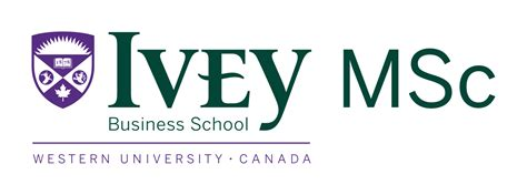 Mba Of Msc by Logos Ivey Brand