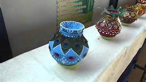 how to decorate pot at home sehore blue bird school kalash decoration competition 1