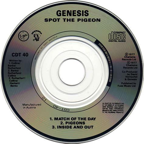 Pidgeon The Cd 2017 car 225 tula cd de genesis spot the pigeon cd single