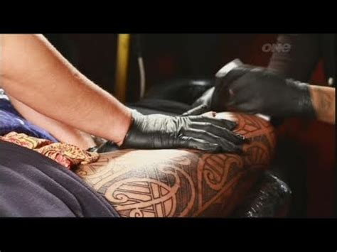 2 extreme tattoos ta part 1 of 2 the traditional process of maori tattooing ta