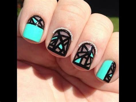 fotos de uñas decoradas sencillas 2015 las mejores u 209 as decoradas youtube