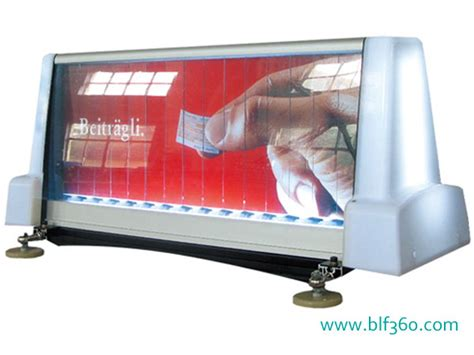 Car Roof Advertising Box - taxi top light box trivision type car top ads taxi light