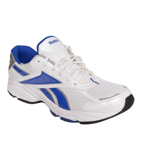 reebok blue and white sports shoes price in india buy