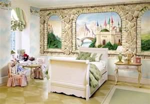 Girls Bedroom With Bunk Beds