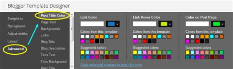Blogspot How To: Change Post Title Color in Blogger