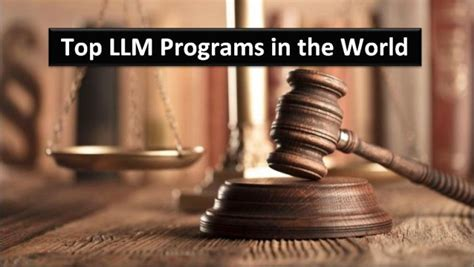 best llm in the world top llm programs in the world 2019 helptostudy 2020