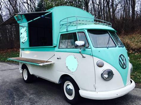 volkswagen wagon 1960 1960 vw screen custom food truck vw bus wagon
