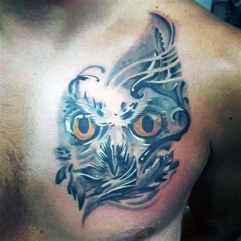 tattoo 3d owl 70 owl tattoos for men creature of the night designs