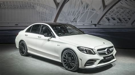 Mercedes C43 Amg by 2019 Mercedes Amg C43 Gets More Power Better Tech Roadshow