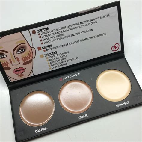 City Color Contour Effect 2 Pallete Tone adaygoesbyunnoticed styletone box februari 2016