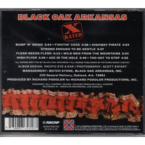 black arkansas x by black oak arkansas cd with ald93 ref 115921444