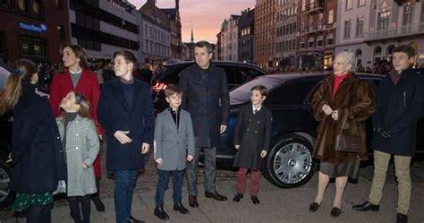 danish royal family attended christmas service  aarhus cathedral newmyroyals hollywood fashion