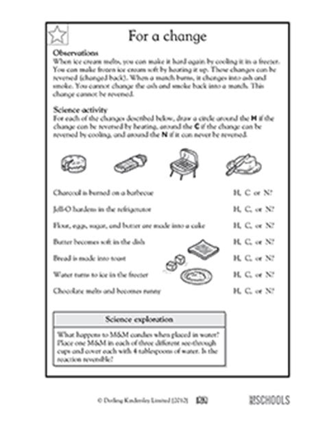Free printable 2nd grade science Worksheets, word lists
