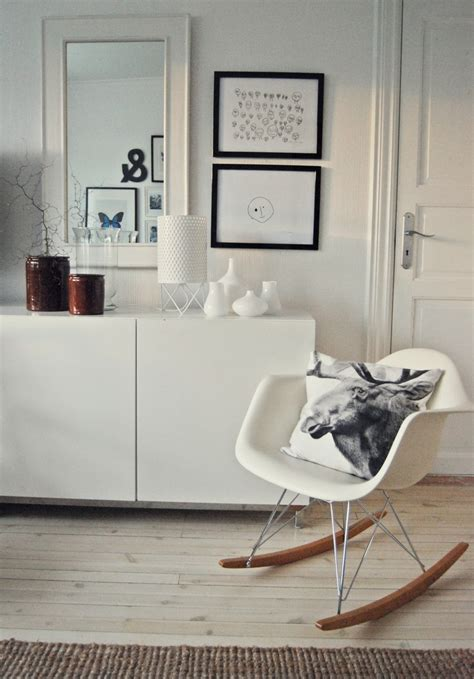 White Rocking Chair Nursery 25 Best Ideas About Eames Rocking Chair On Pinterest Grey White Nursery Eames Rocker And