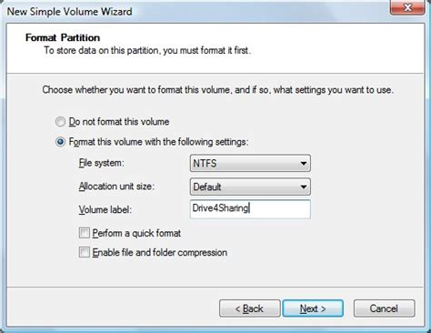 format hard drive hp hp pcs partitioning and naming hard drives windows 7