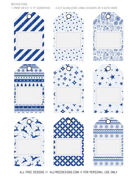 printable christmas gift tags you can type printable christmas cards in sparkly blue to download free