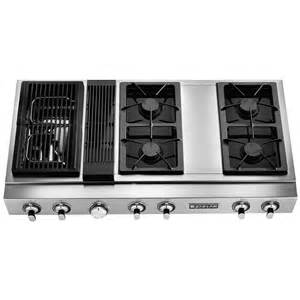 Black Gas Cooktops Pro Style 174 Modular Gas Downdraft Rangetop 48 Quot Jenn Air