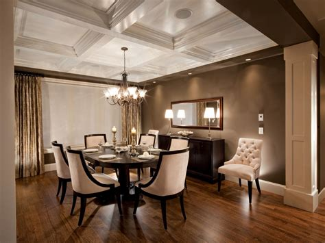 dining room coffered ceiling photos hgtv