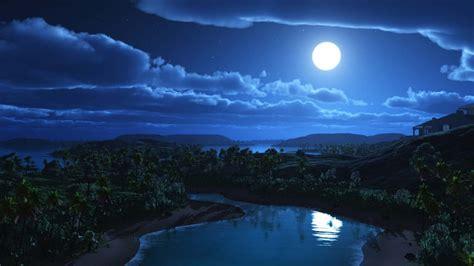 wallpapers luna llena por jomagabo fondos paisajes paisaje nocturno con luna llena