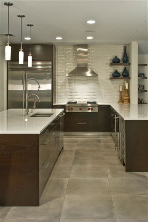 contemporary kitchen floor tiles handcrafted ceramic tile