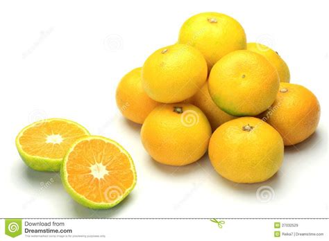orange delivery premature delivery mandarin orange royalty free stock
