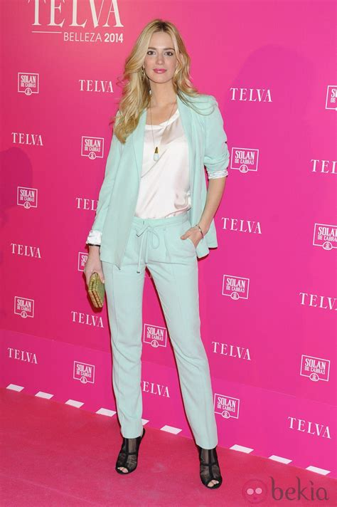 premios telva 2014 teresa baca en los premios telva de belleza 2014 famosas