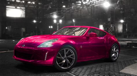 nissan pink nissan 370z pink the crew by blindmotherfucker on deviantart