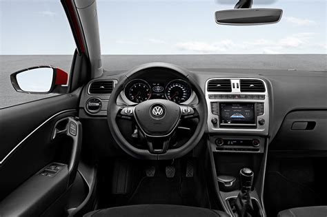 volkswagen polo interior 2014 volkswagen polo facelift interior and updated tech
