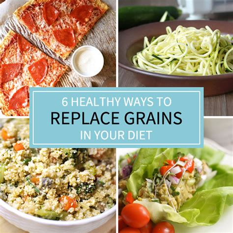 Ways Dieting Can Be by 6 Healthy Ways To Replace The Grains In Your Diet