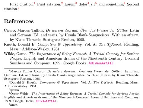 Sle Of Research Paper With Footnotes And Bibliography by Biblatex Repeated Citations In Footnotes That Point Back To Earlier Footnotes Tex