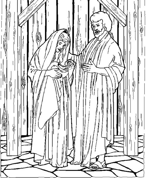 coloring pictures mary joseph mary and joseph coloring pages coloring home