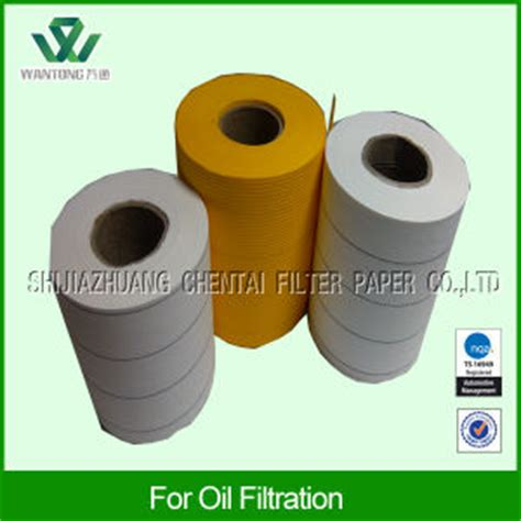 air fuel filter paper wood china wood pulp and meltblown three layers water separator fuel filter paper china water