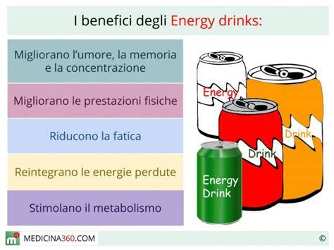 taurina alimenti energy drink effetti benefici e controindicazioni delle