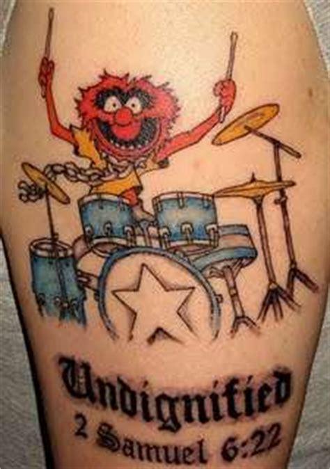 tattoo animal muppets animal muppet tattoo