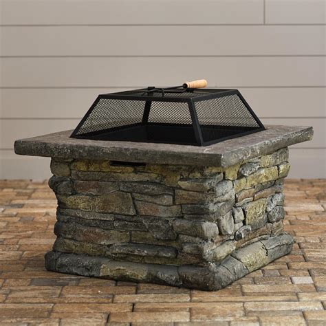 Firepit Screens Pit Screen Square Pit Design Ideas