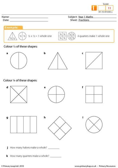 Printable Half And Quarter Worksheets | all worksheets 187 fractions worksheets halves and quarters