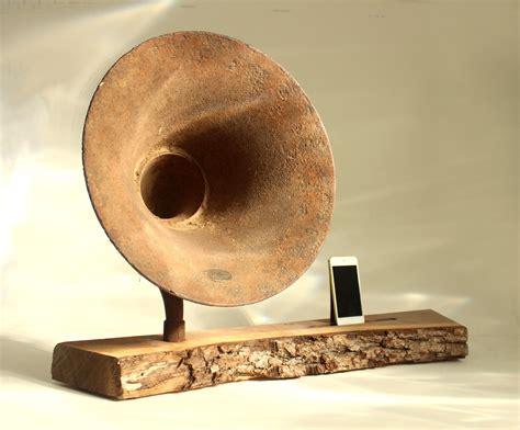 Horn Speaker Mini Ihorn Mini Iphone Acoustic Speaker Horn Rustic Time Speaker