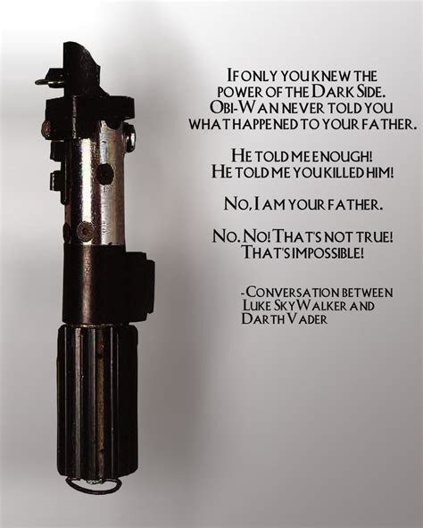 Lightsaber Quotes