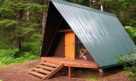 Small A Frame Cabin Plans With Loft by Small A Frame Cabin Plans With Loft Frame A Small Cabin