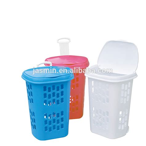 colored laundry baskets sell plastic laundry basket with wheels buy colored