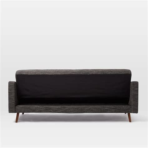 west elm futon sofa kiko futon sofa west elm