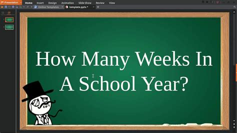 how many weeks in a year how many weeks in a school year youtube