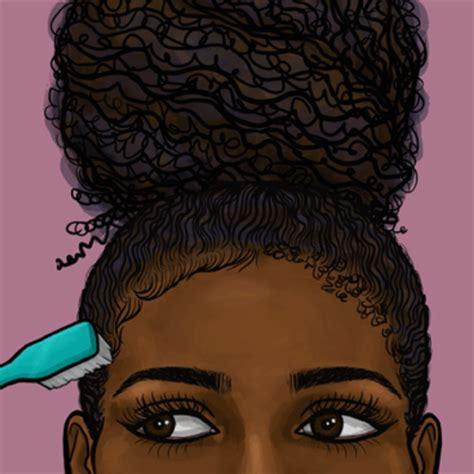 edge of wallpaper curls black history month hair gifs essence com