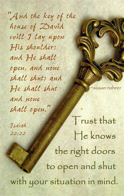 The Key Of The Door by When God Closes A Door Deepconvosession