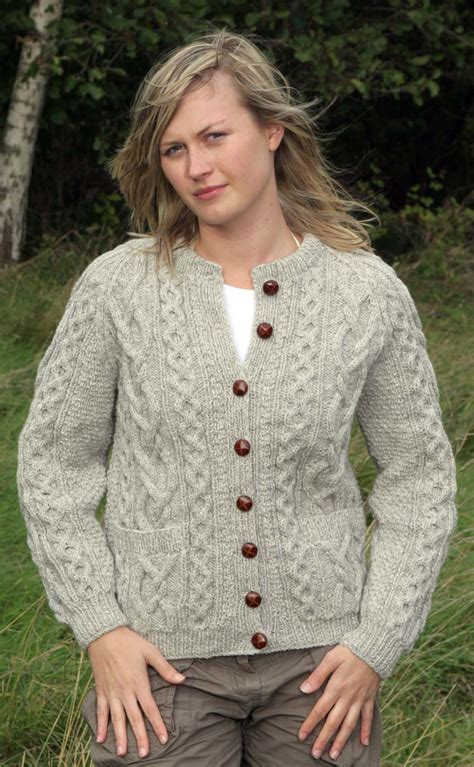 knitting pattern aran cardigan knitting patterns aran cardigan ladies crochet and knit