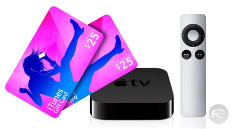 Get Free Apple Gift Card - how to get a free 25 itunes gift card out of your already purchased apple tv