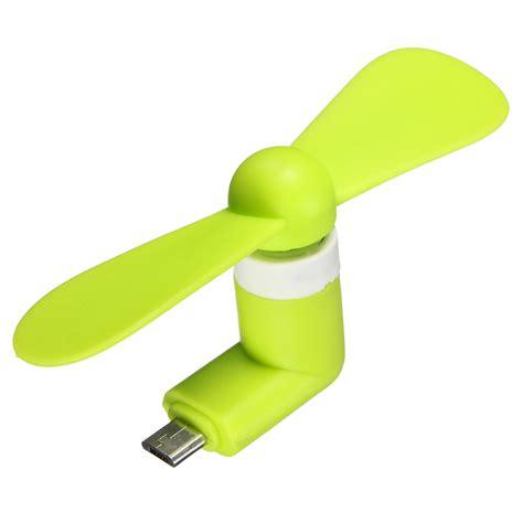 Powerbank Fan Portable 3 Speed mini portable fan sport travel cooling fans micro usb