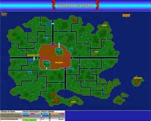 Phantasy Star World Map by Phantasy Star 2 Maps