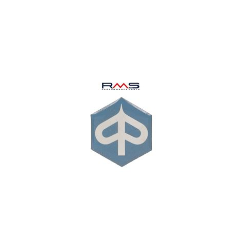 Badge Logo Bordir Band Vespa emblem logo piaggio 6 eckig selbstklebend 27x31mm f 252 r vespa primavera et3 125 ebay