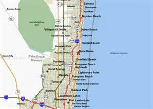 map of florida boca raton maps of boca raton